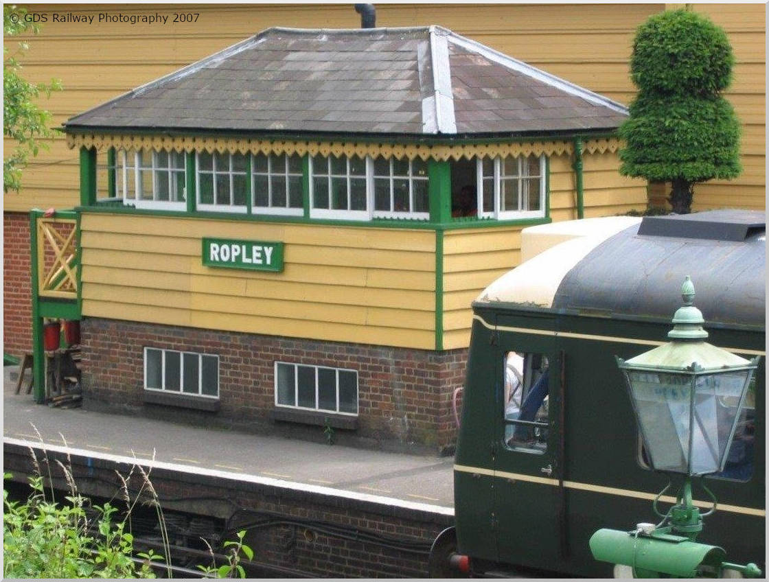 Ropley's ex LSWR signal box