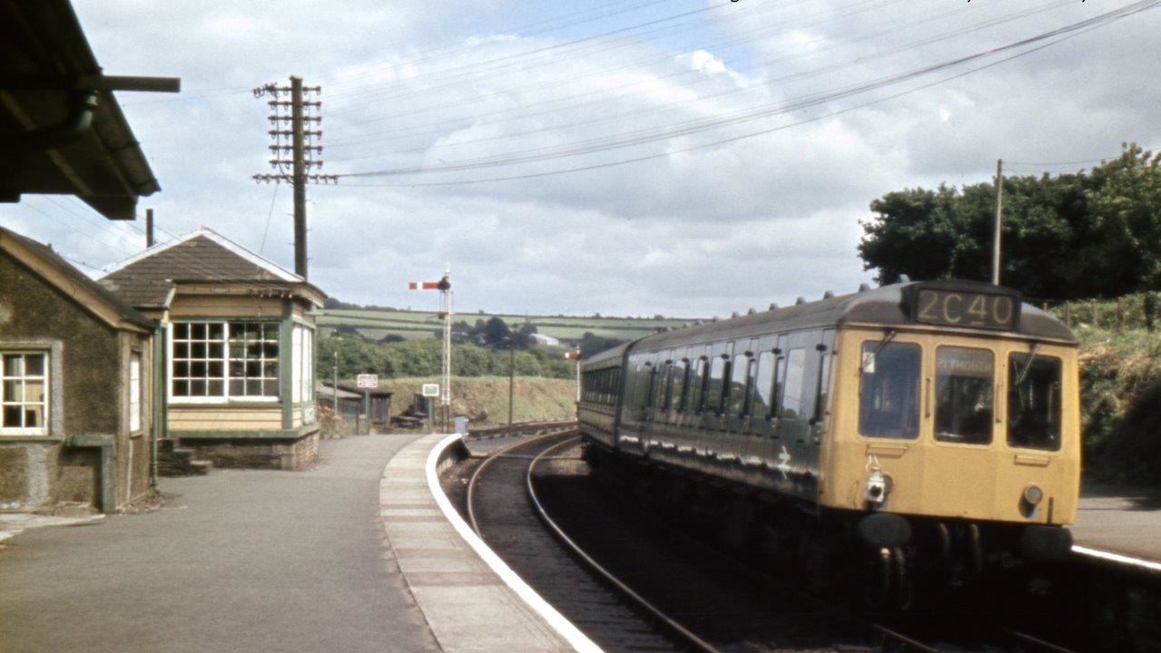 Bere Alston Station in 1970